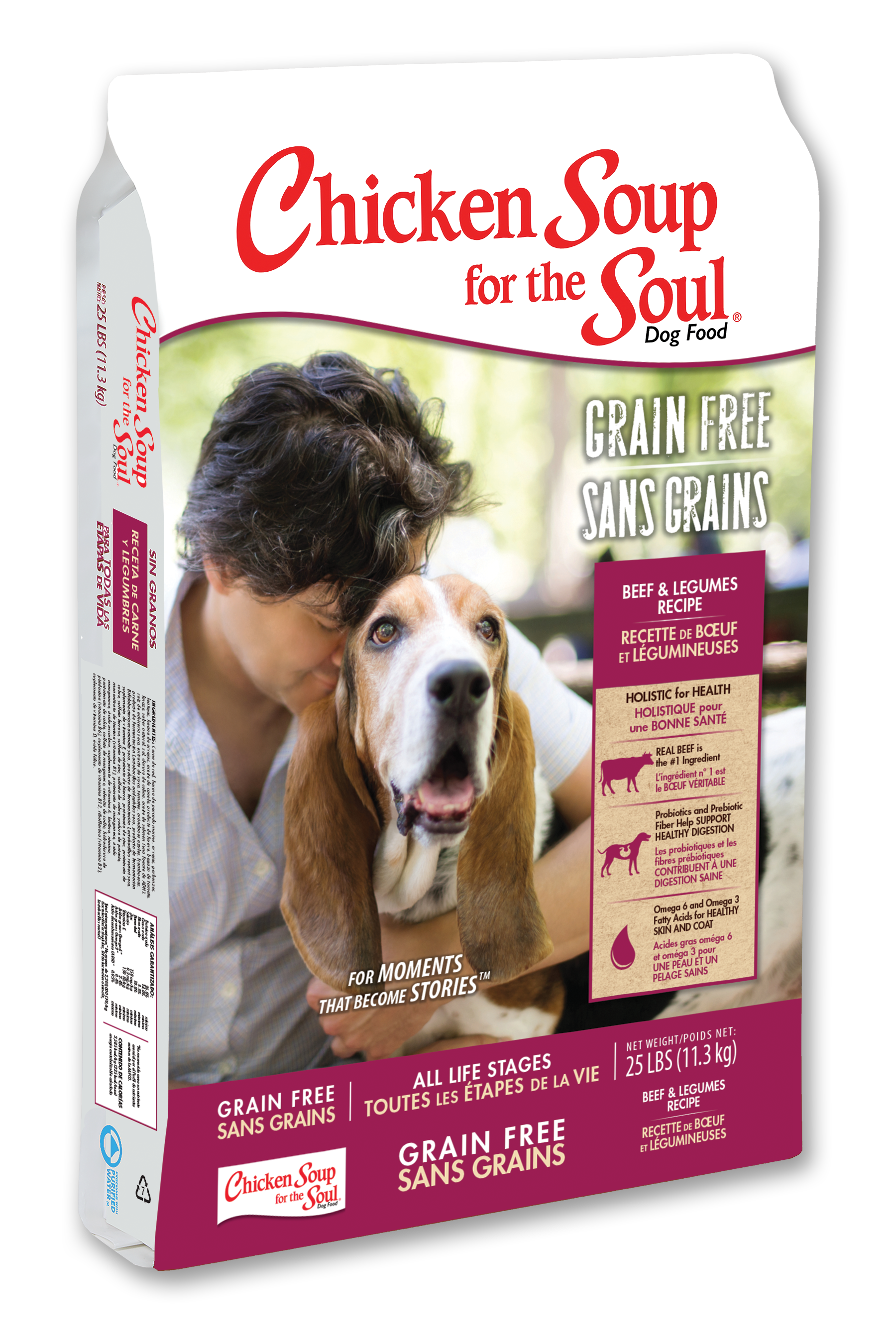 Grain Free Dog Food Beef Amp Legumes Recipe Chicken Soup