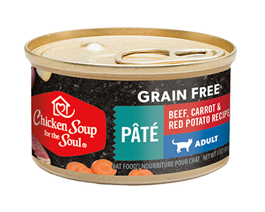 Grain Free Wet Cat Food - Beef, Carrot & Red Potato Recipe Pâté (image)