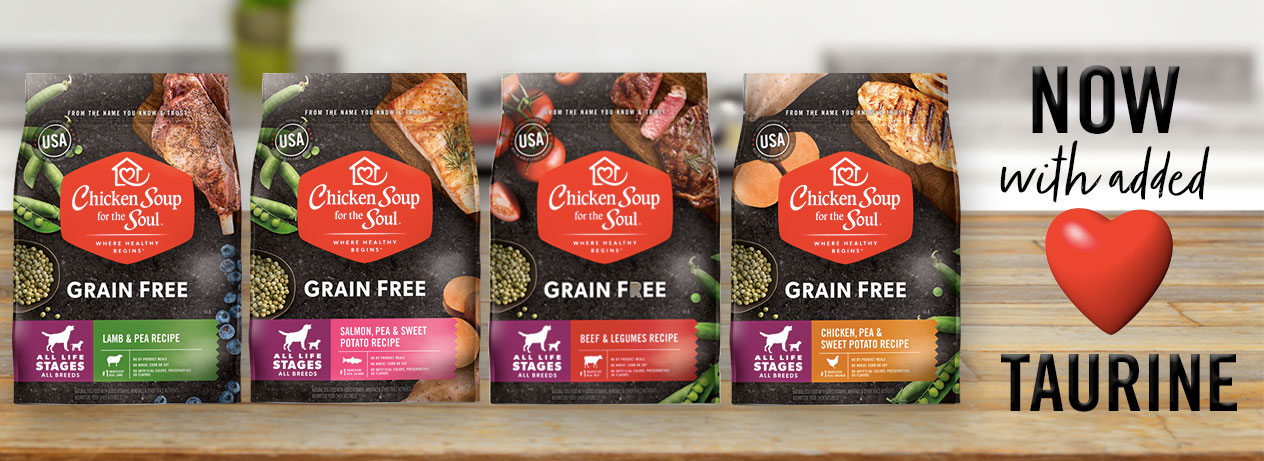 Chicken Soup for the Soul Grain Free Dog Food: New Look