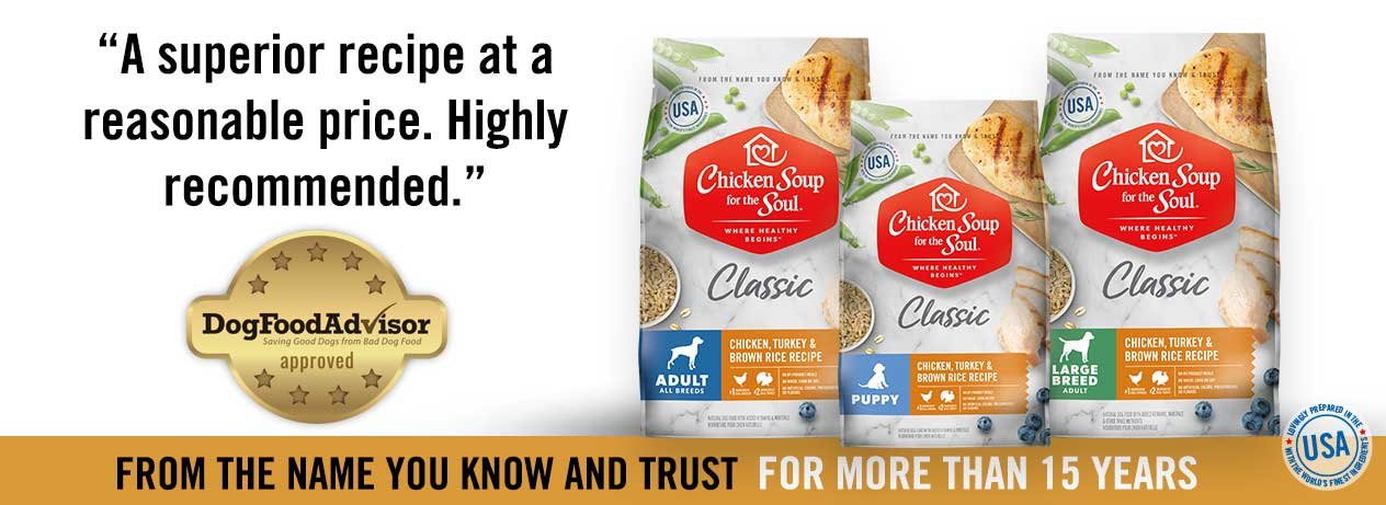 Chicken Soup for the Soul Classic Dry Dog Food: DogFoodAdvisor approved