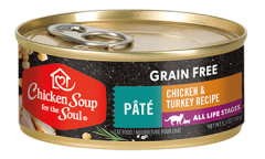 Grain Free Wet Cat Food - Chicken & Turkey Pâté (front view)
